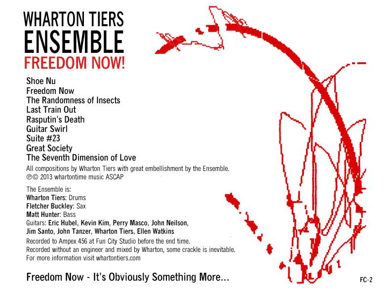 Wharton Tiers Ensemble, Freedom Now! digital booklet