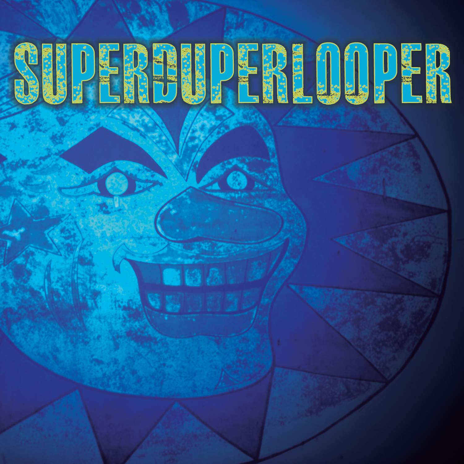 Wharton Tiers, Superduperlooper cover art