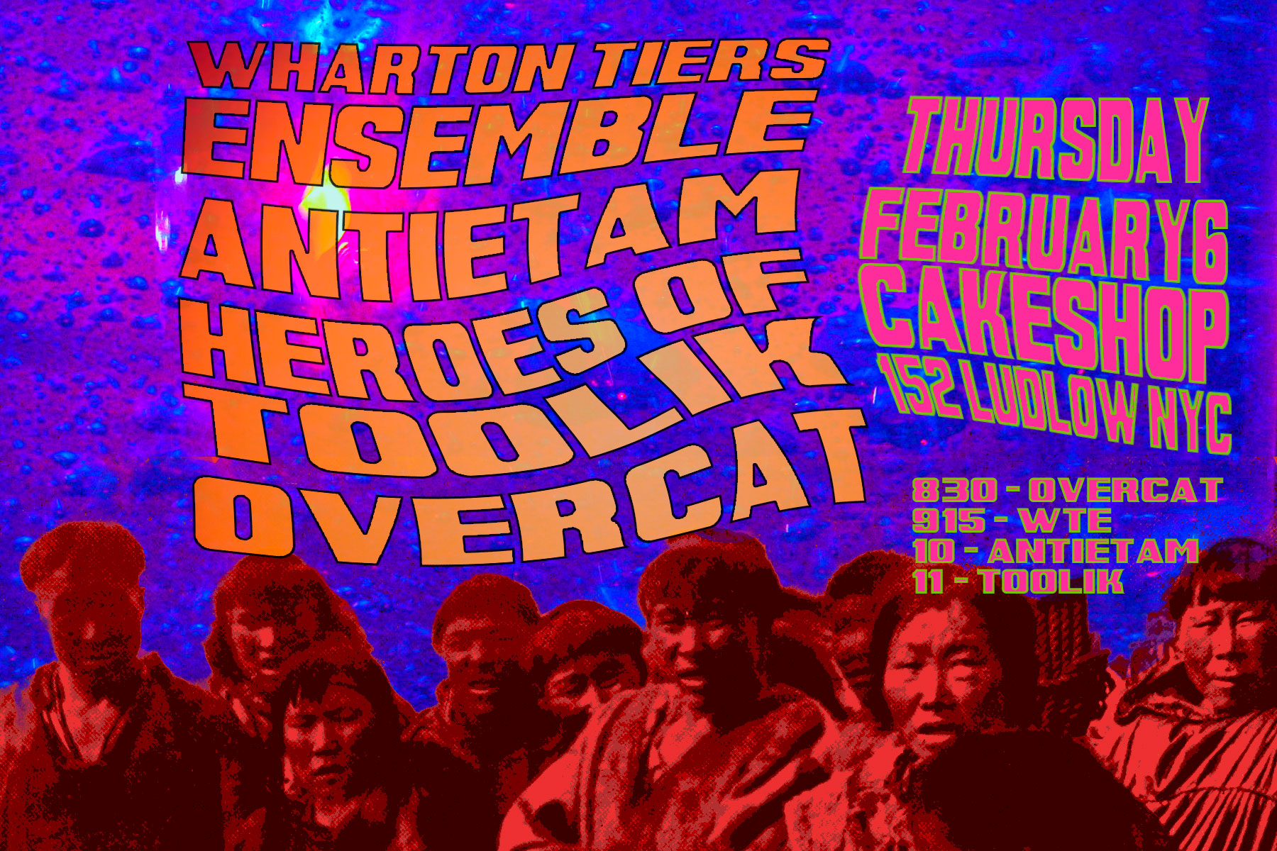 Wharton Tiers Ensemble at Cakeshop February 6, 2014