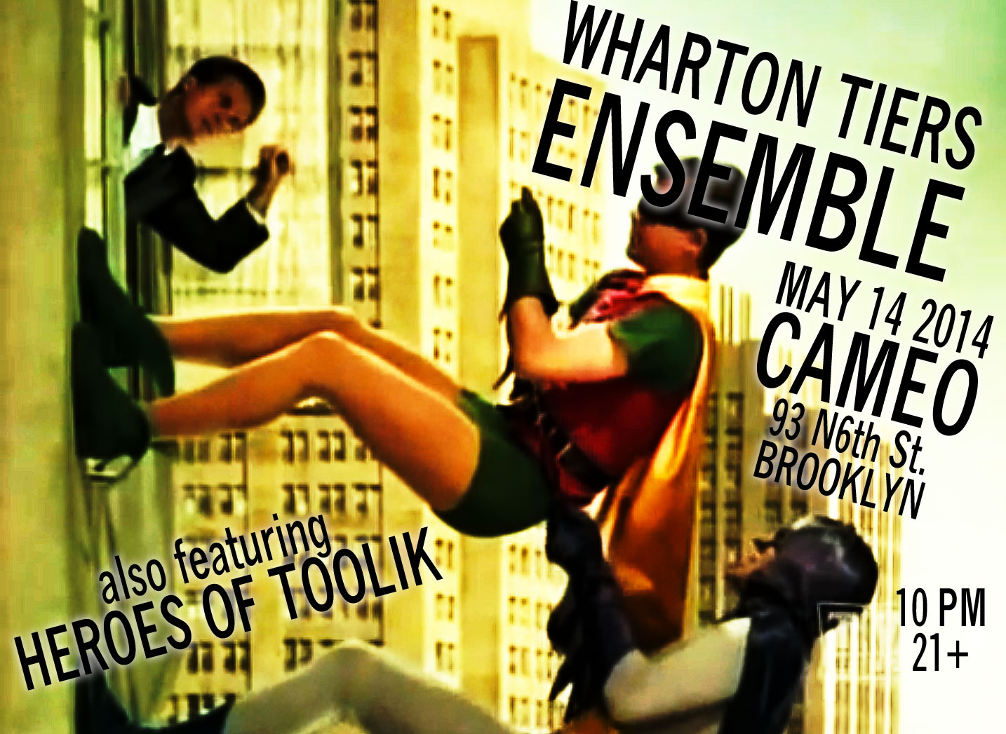 Wharton Tiers Ensemble at Cameo Gallert May 14, 2014