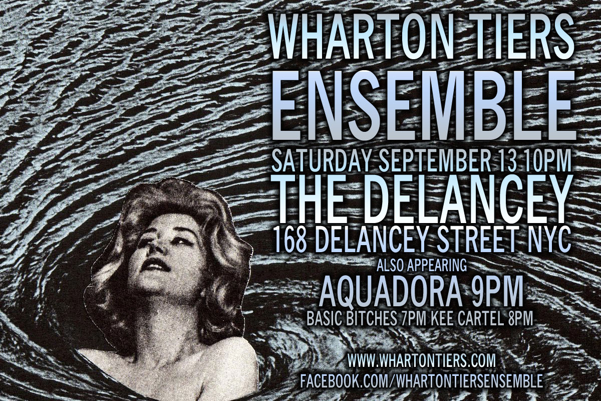 Wharton Tiers Ensemble at The Delancey, September 13, 2014