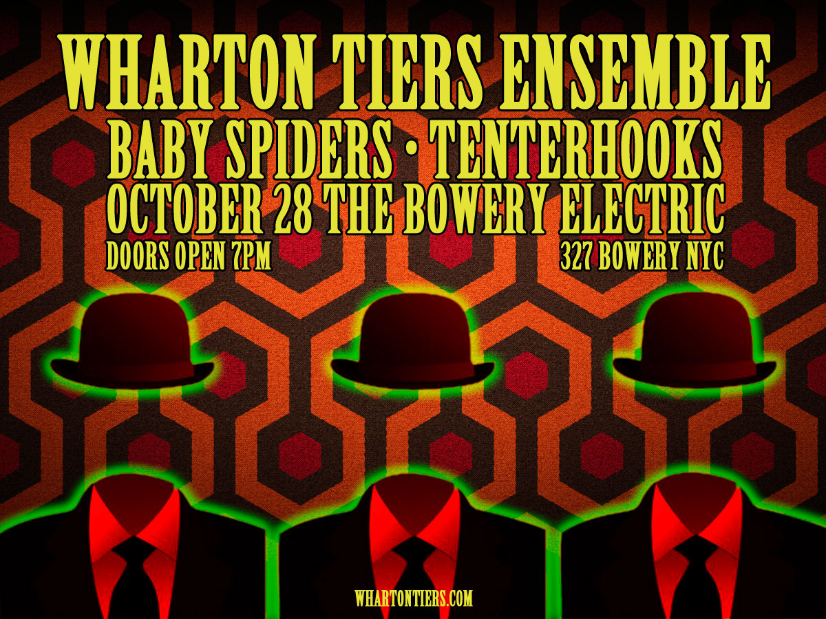 Wharton Tiers Ensemble at The Bowery Electric, October 28, 2014