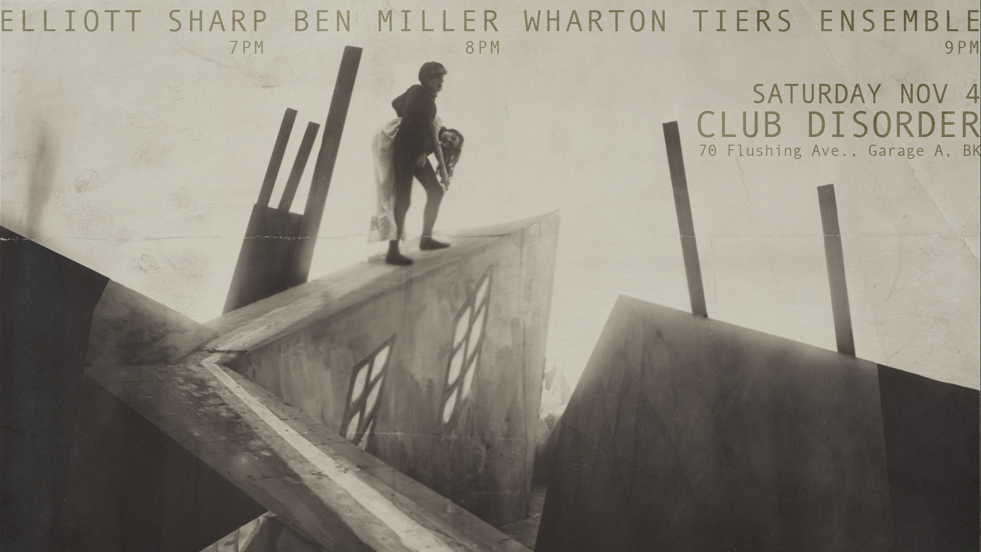 WTE at Club Disorder w/ Elliott Sharp & Ben Miller